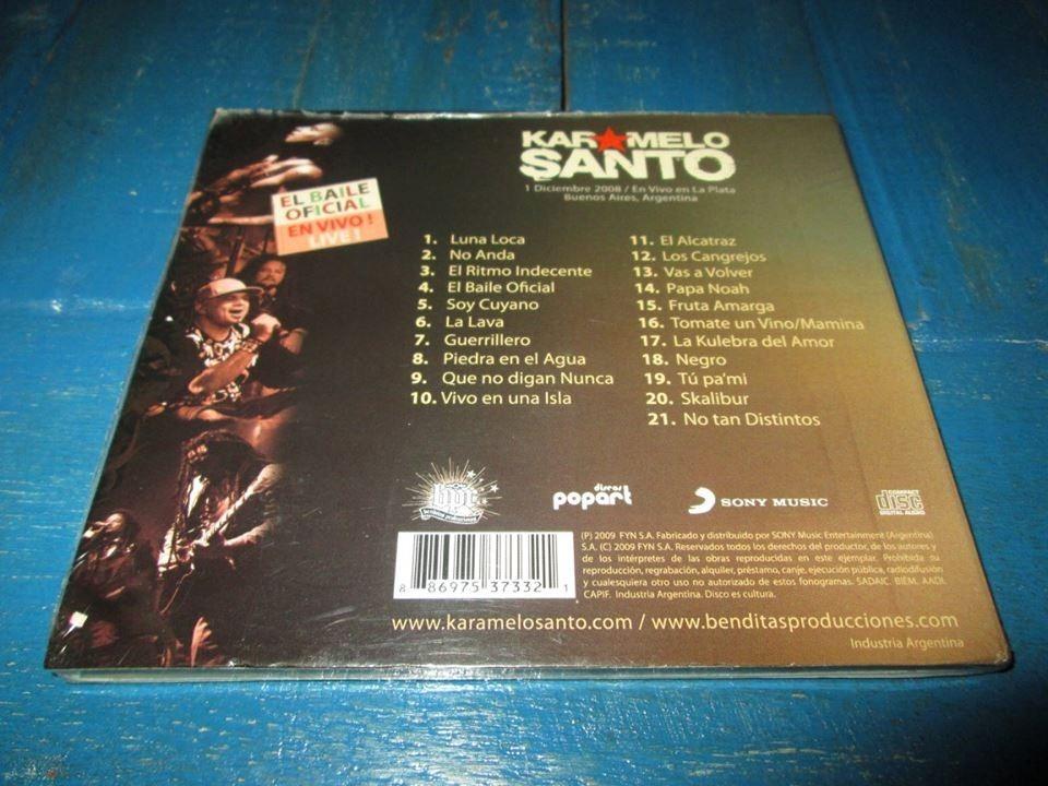 karamelo santo nuevo disco 2011