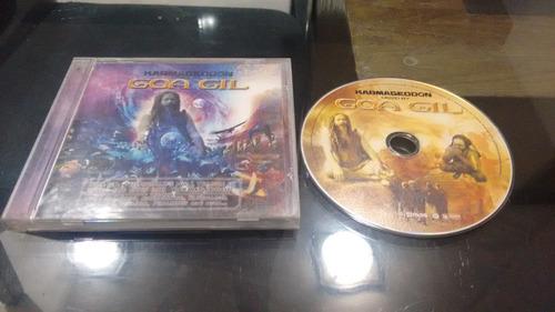 cd karmageddon goa gil en formato cd,excelente titulo