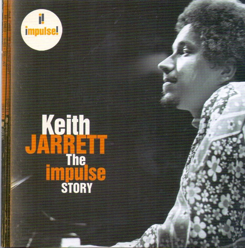 cd keith jarrett - the impulse story - novo***