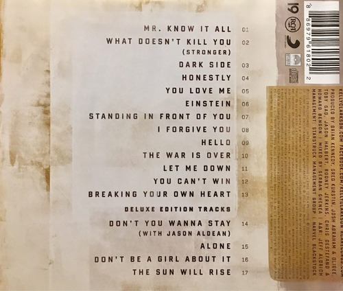 cd kelly clarkson stronger deluxe edition