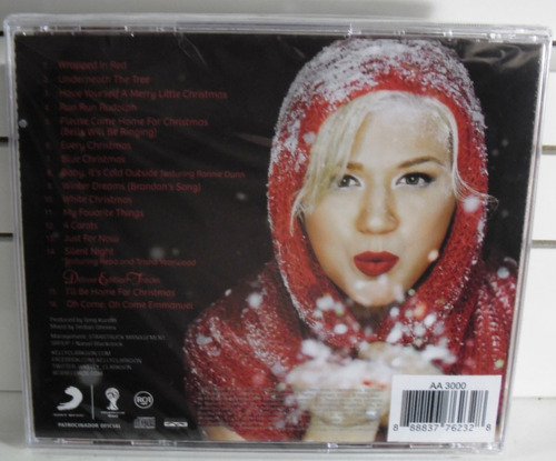 cd-kelly clarkson-wrapped in-em otimo estado