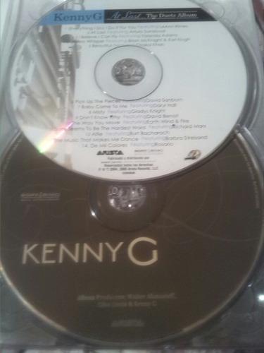 cd  kenny g. grandes exitos (album 3 cd)