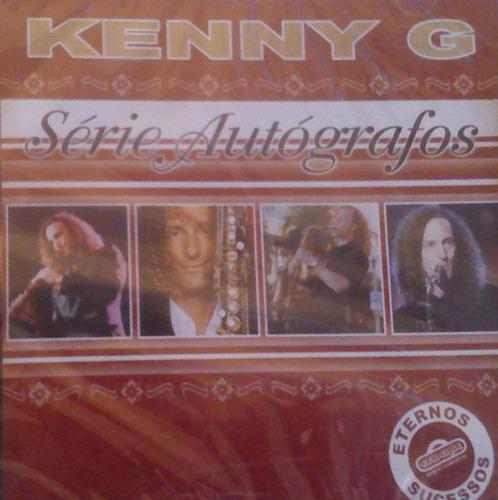 cd - kenny g - série autografos