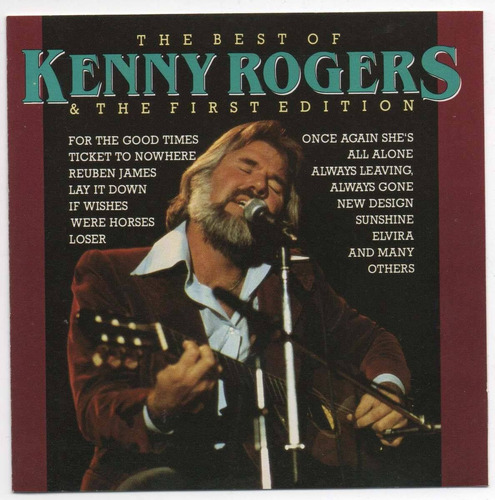 cd kenny rogers & the first edition - the best of - sunshine