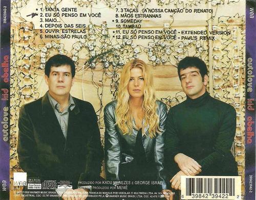 cd kid abelha - autolove (produzido por memê) warner 1998