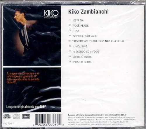 cd kiko zambianchi 1987 lacrado !!! raro capiital inicial