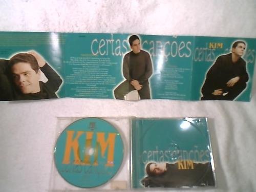cd  (  kim  -  certas canções )  1999  ( raridade )