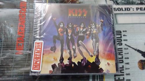 cd kiss destroyer en formato cd,excelente titulo