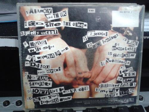 cd - kiss this - sex pistols (promoção)