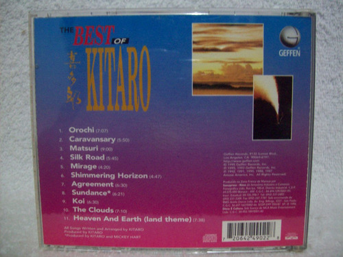 cd kitaro- the best of kitaro