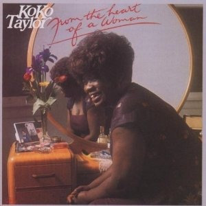 cd koko taylor from the heart of a woman