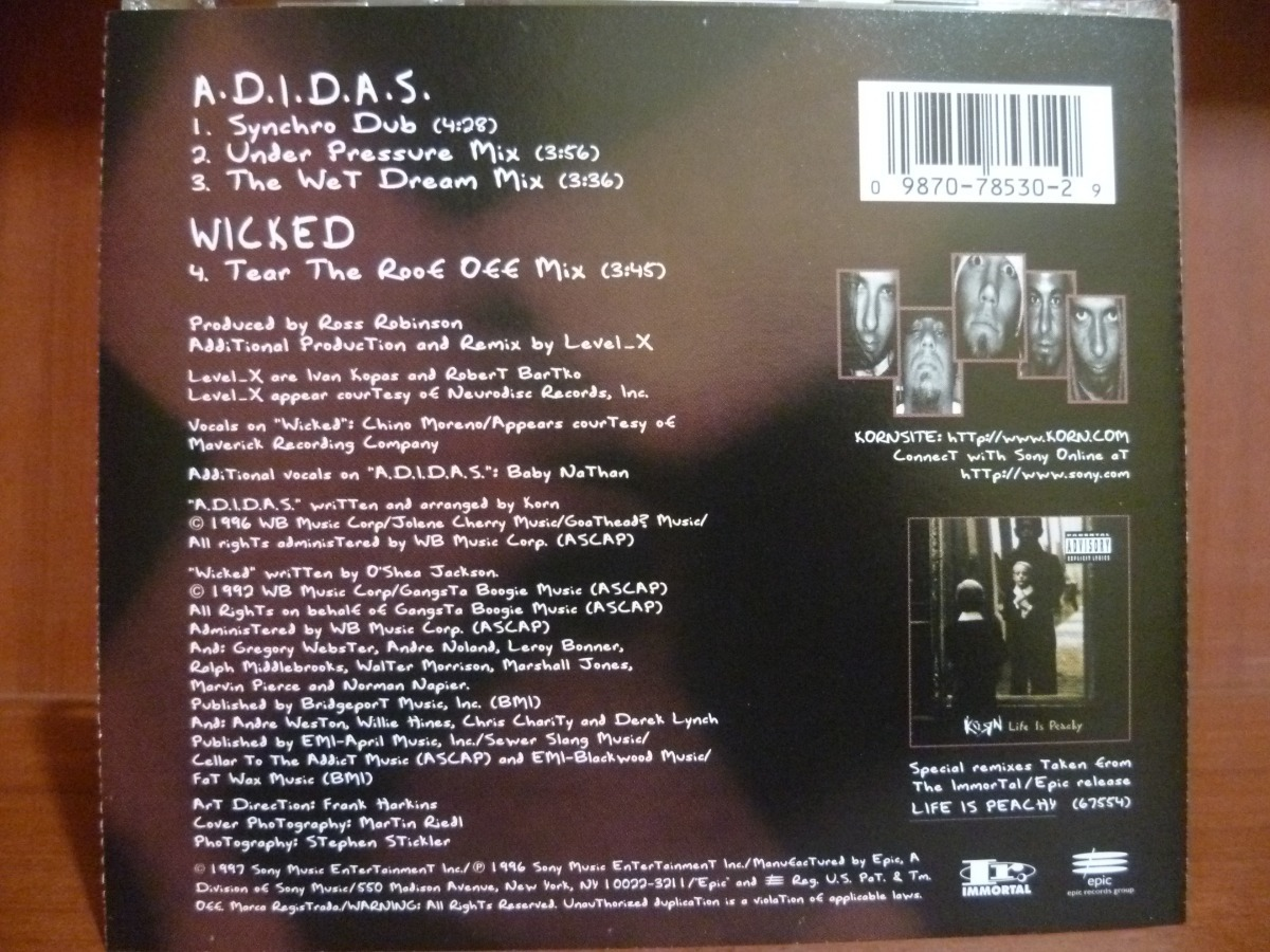 Korn adidas the wet dream mix