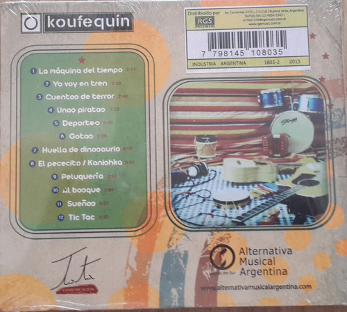 cd koufequin segunda edicion.musica alternativa