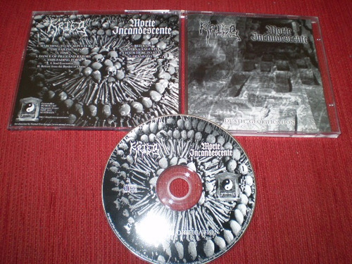 cd krieg / morte incandescente - death glorification burzum