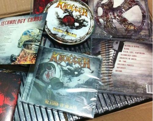 cd krueger - return to death - lacrado - produto original
