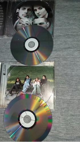 cd-kudai-lote de 2cd's-rock-onda erreway-rbd-menudo-boys