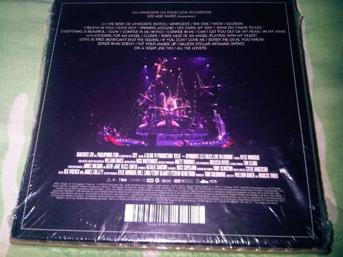 cd kylie minogue (the aprodite tour les folies live in u.k)
