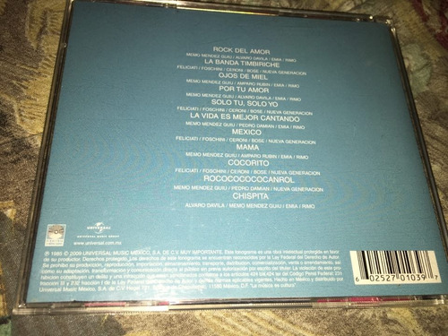 cd la banda timbiriche edición universal 2009