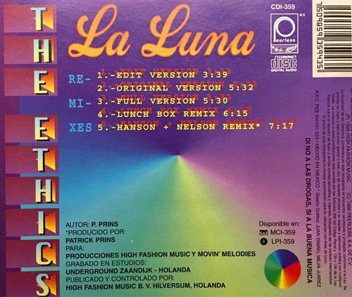 cd la luna the ethics remixes