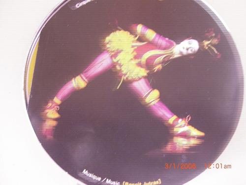 cd la nouba cirque de soleil edição importada-exc.estado.