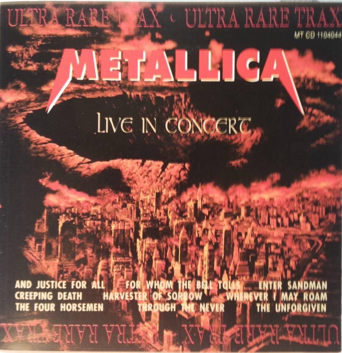 Cd Lacrado Metallica And Justice For All Live In Concert 199 Carregando Zoom