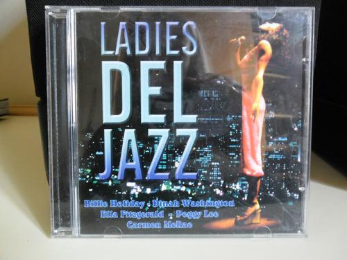 cd ladies del jazz billie holiday lena horne ella