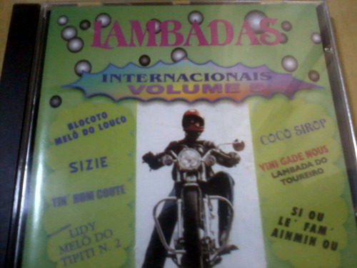cd lambadas internacionais volume 5