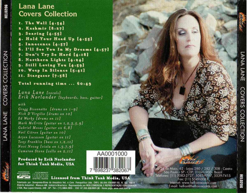 cd lana lane - covers collection