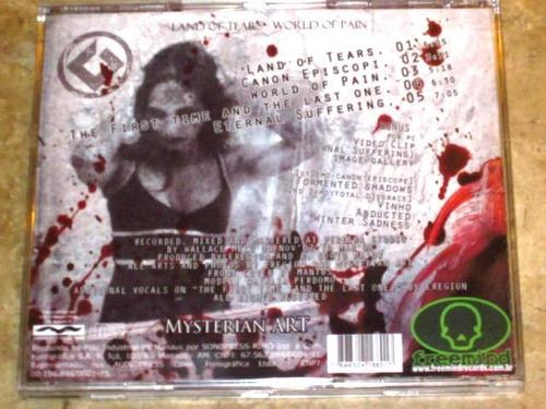 cd land of tears - world of pain (2008) c/ bonus video