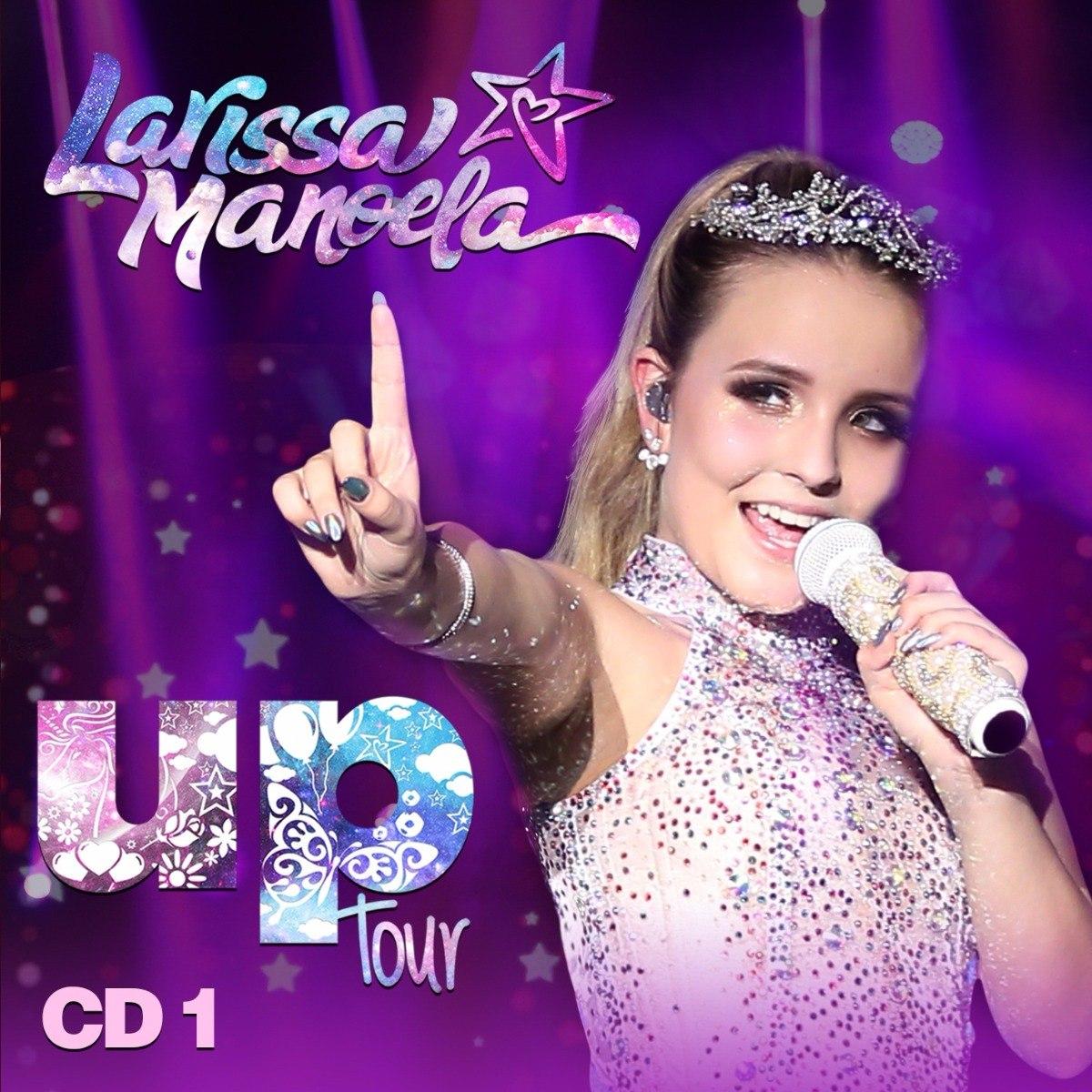 97042c2bb7803 Cd Larissa Manoela Up Tour Cd 1 Novo Lacrado - R  25,00 em Mercado Livre