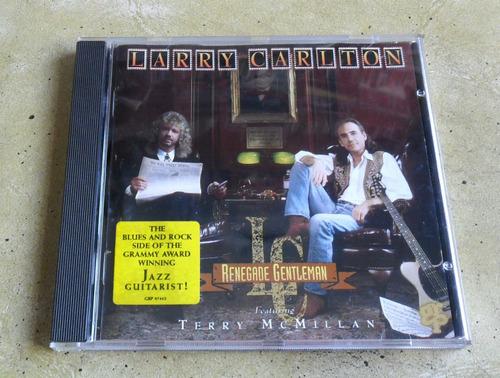 cd larry carlton - renegade gentleman - importado.