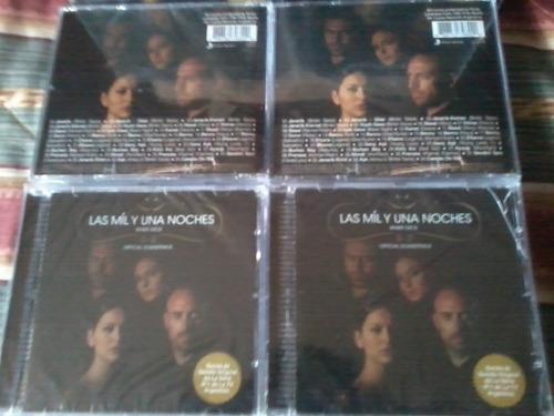 cd las mil y una noches musica de la novela nuevo original