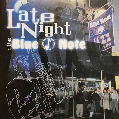cd late night at the blue note importado de estados unidos