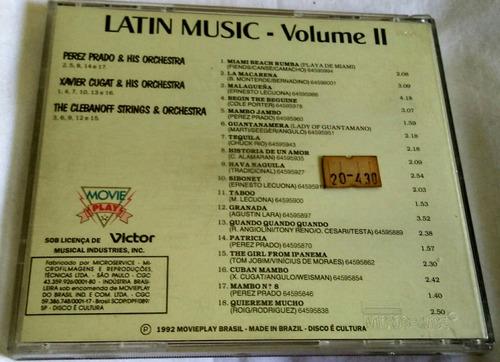 cd latin music vol.2
