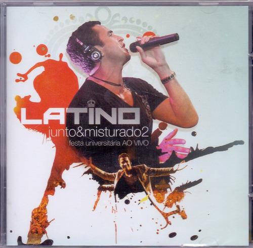 cd latino - junto&misturado 2 ao vivo - novo***
