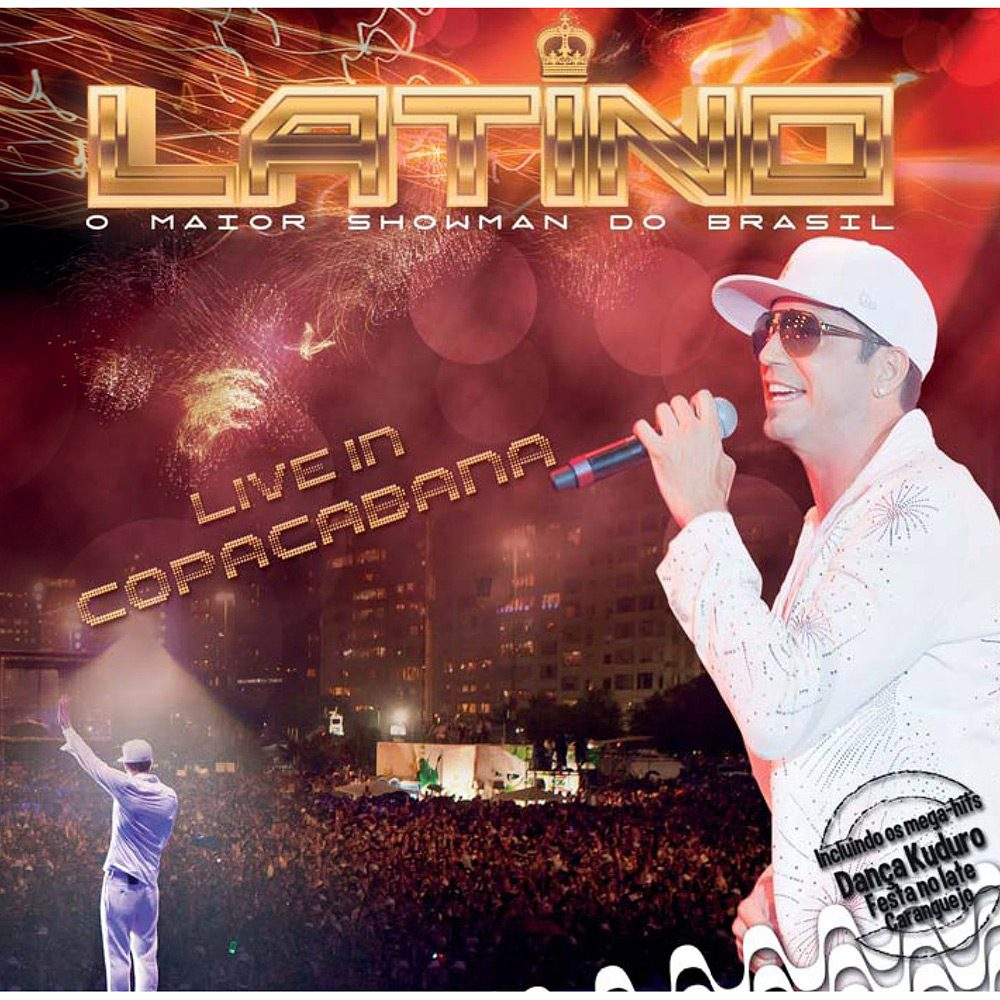 o novo cd do latino live in copacabana