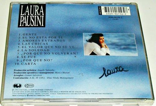 cd laura pausini / homonimo / importado de alemania