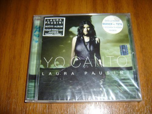 cd laura pausini / yo canto (nuevo y sellado) año 2006