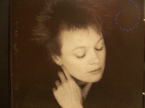 cd - laurie anderson - starnge angels