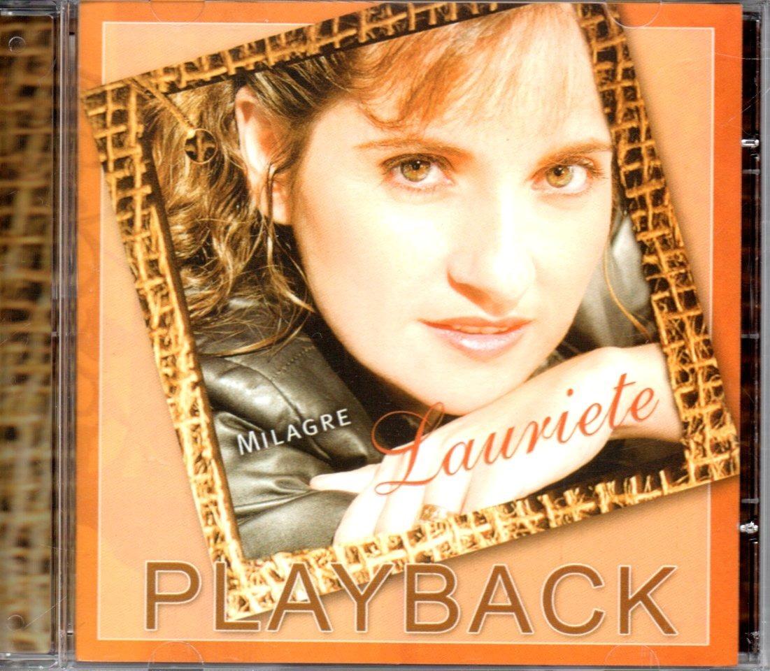 cd lauriete palavras cantado e playback