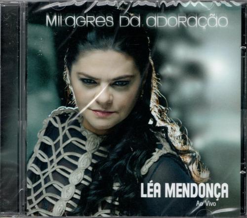 cd léa mendonça - milagres da adoração - ao vivo