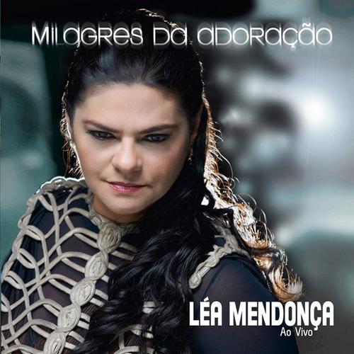 cd léa mendonça milagres da adoração ao vivo mk lc11