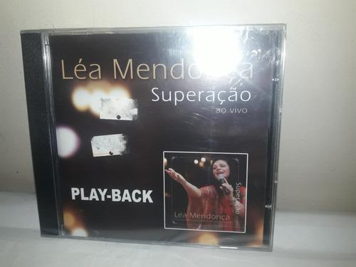 cd léa mendonça superação  play back ja 35