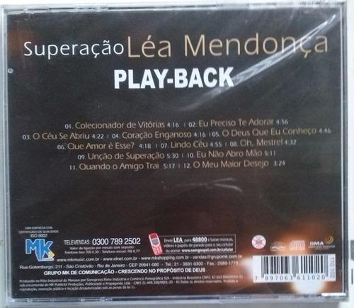 cd léa mendonça - superação - playback