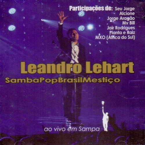 cd leandro lehart samba pop brasil mestiço lacrado raridade