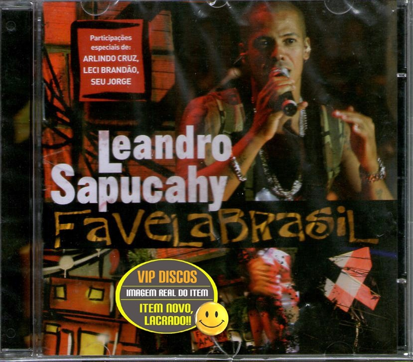 cd favela brasil leandro sapucahy