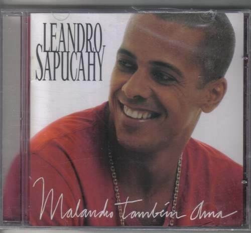 cd leandro sapucahy - malandro também ama - b248