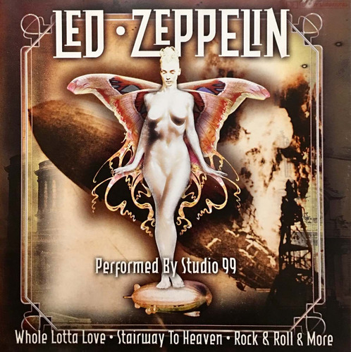 cd led zeppelin a tribute studio 99 importado