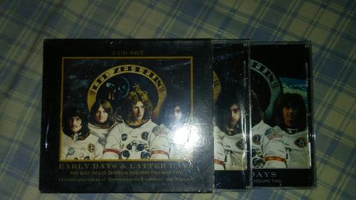 cd led zeppelin  early days & latter days 1&2como nuevos