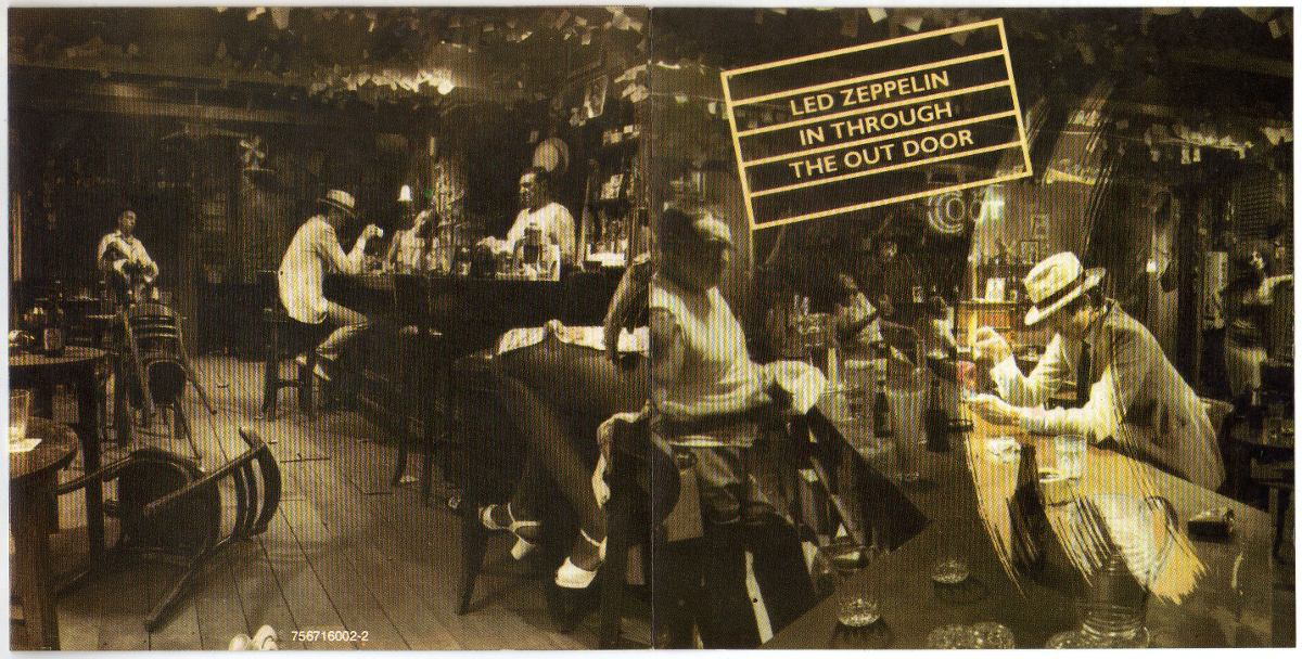 in through the out door cd led zeppelin in through the out door cd original 56540